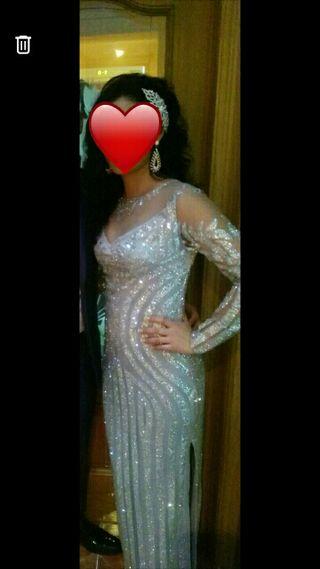 vestido de fiesta gitana de segunda mano en wallapop