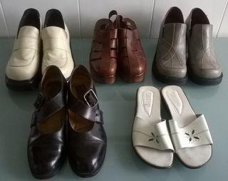 Lote de ropa y calzado