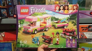 Lego friends 3184 Caravana