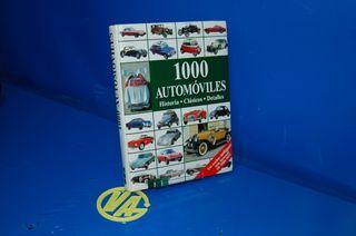 libro 1000 AUTOMOVILES -Tapa dura Formato grande H