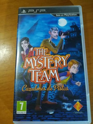juego Psp The mistery team