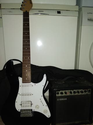 guitarra y ampli