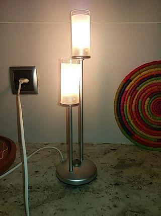 2 lamparas mesilla de noche