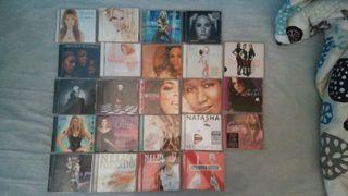 cds variados voces femeninas
