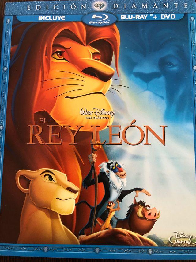 El rey león bluray DVD