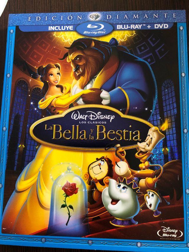 La bella y la bestia bluray DVD diamante