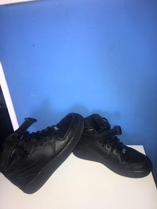 Nike air force1 negras originales