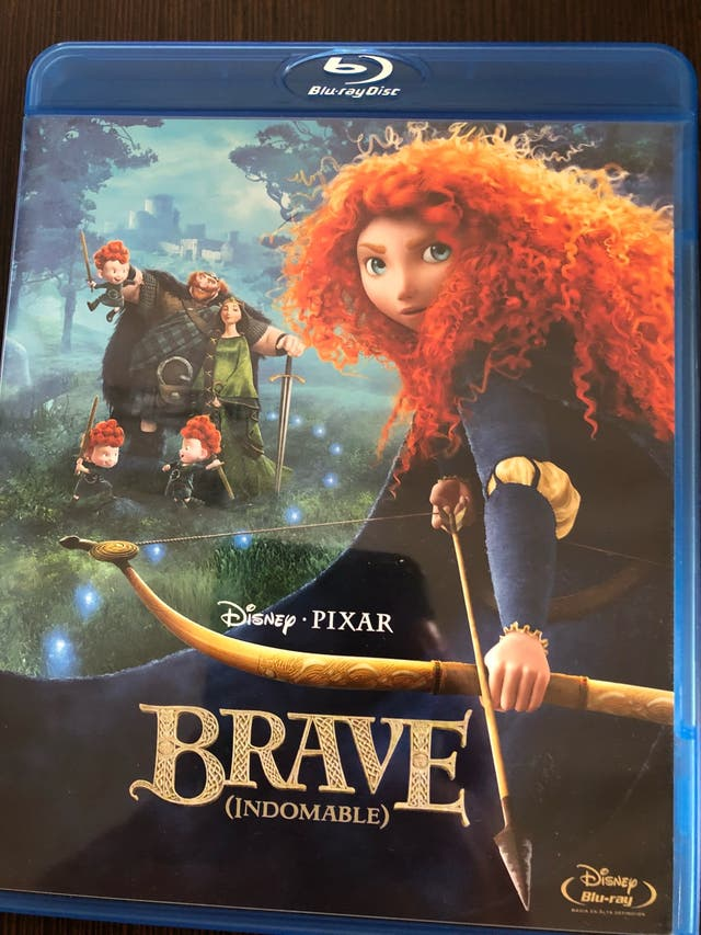 Brave indomable bluray disney