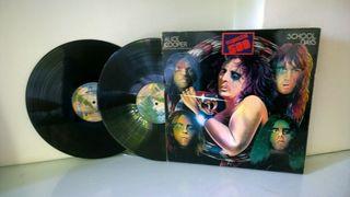 "Alice Cooper-Doble Vinilo LP""School Days"" 1973"