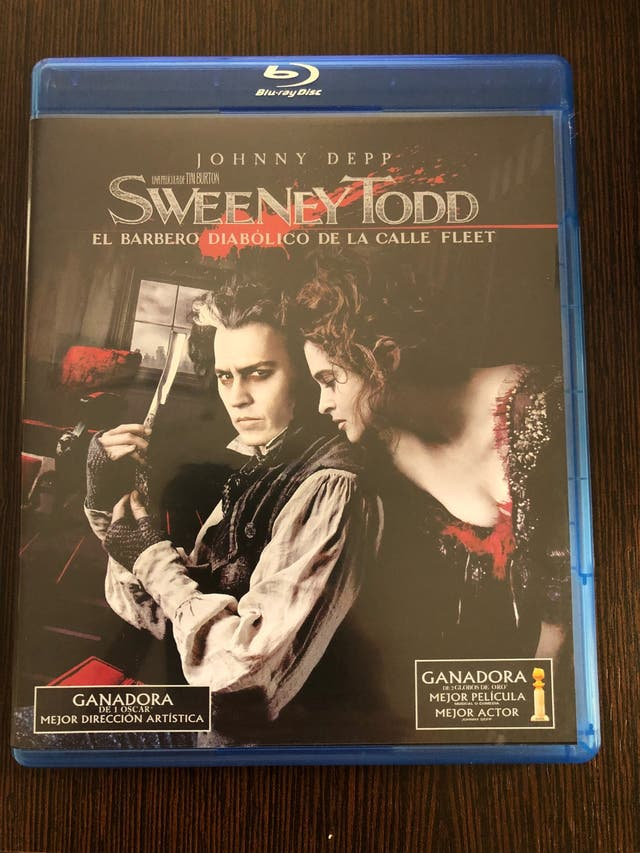 Bluray sweeney todd tim burton