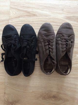 2 pares Zapatillas