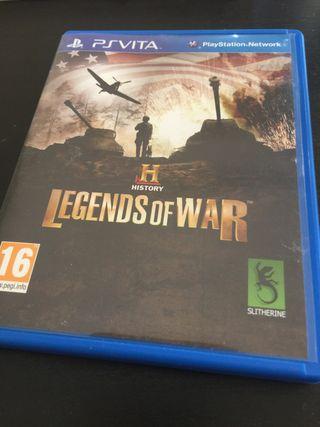 Legends of War PsVita