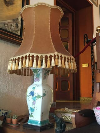 pareja de lámparas japonesas años 60 XL