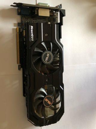 Asus Geforce GTX 650 Ti Direct CU II 1gb DDR5