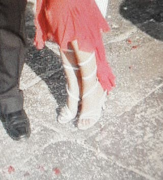 sandalia recorrido pierna t37