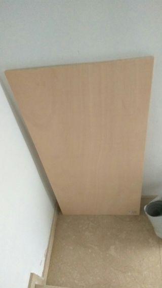 Tablero contrachapado 120x60 cms x 15mm