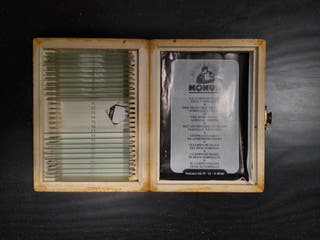Placas para microscopio