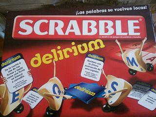 "Juego de mesa ""Scrabble"""