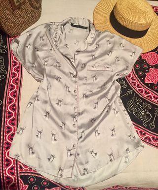 Blusa marca Zara talla S