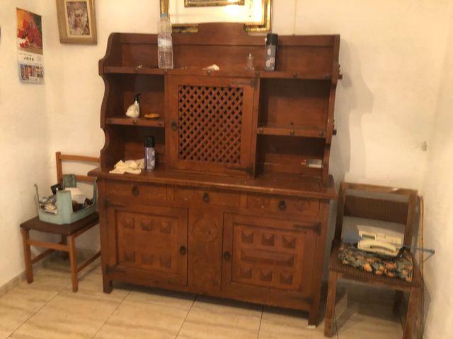 Mueble comedor antiguo rustico de segunda mano por 100 € en Lleida ...