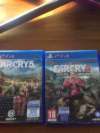 Farcry 5 y 4