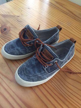 Zapatillas bambas verano talla 34