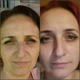 Crema facial con vit.C