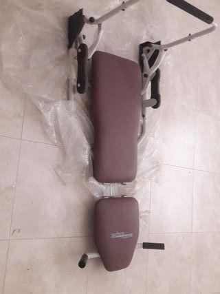 máquina para pierna y abdominales
