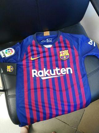 Camiseta del Barcelona temporada 18/19 para niño