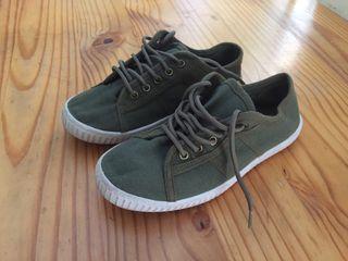 Zapatillas bambas verano talla 35