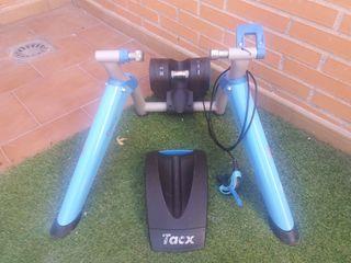 Rodillo entrenamiento Tacx + rueda para rodillo