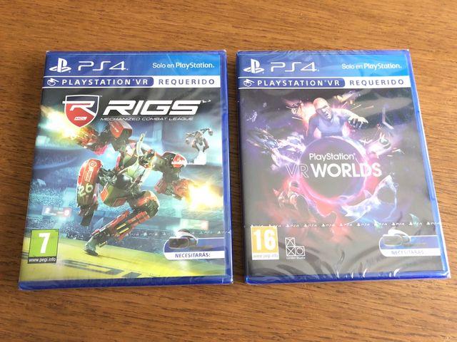 2 Juegos Playstation 4 Ps4 Nuevos Sin Abrir De Segunda Mano Por 30