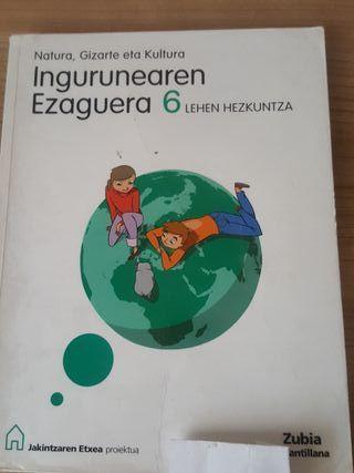 Libro de Natura,Gizarte eta Kultura