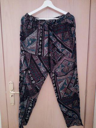 Pantalones Mujer tipo pijama