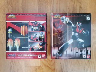 Mazinger Z Super Robot Chogokin y Set de armas