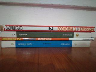 libros 2Bachillerato Letras