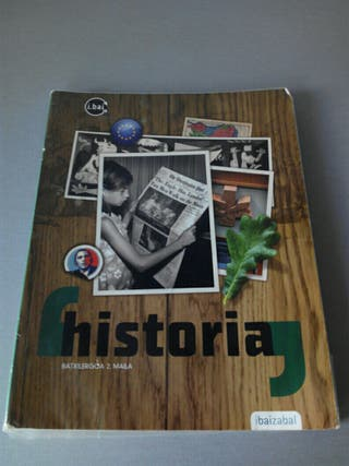 Libro de texto Historia 2 batxilergoa.