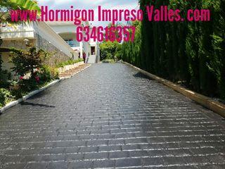 Hormigon impreso en suelos y en vertical, 63461635