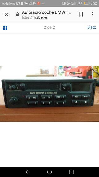 radio cassette bmw.
