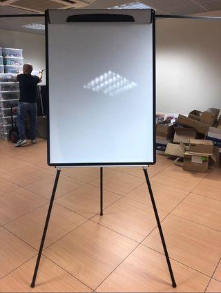 Flip chart, pizarra, papelógrafo