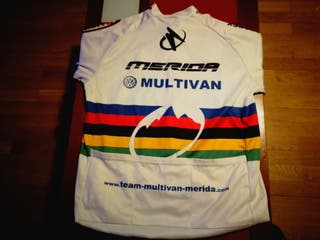 Cambio-Maillot Ciclismo-Tala XL Merida Multivan.