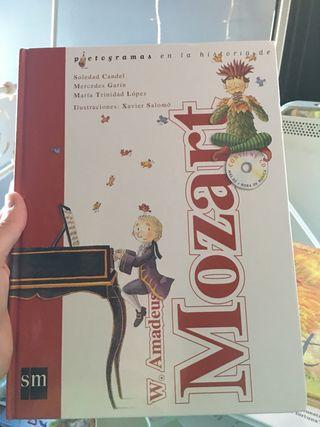 Libro infantil sobre Mozart