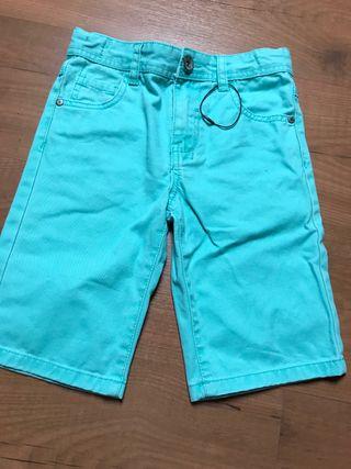 Pantalones nuevos cortos niño