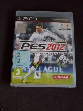 juego ps3 PES 2012