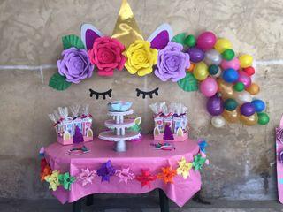 Fiesta temática de unicornio