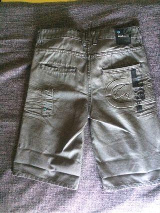 pantalon corto vaquero ecko