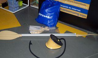 SEVYLOR Bote hinchable kit con remos e hinchador