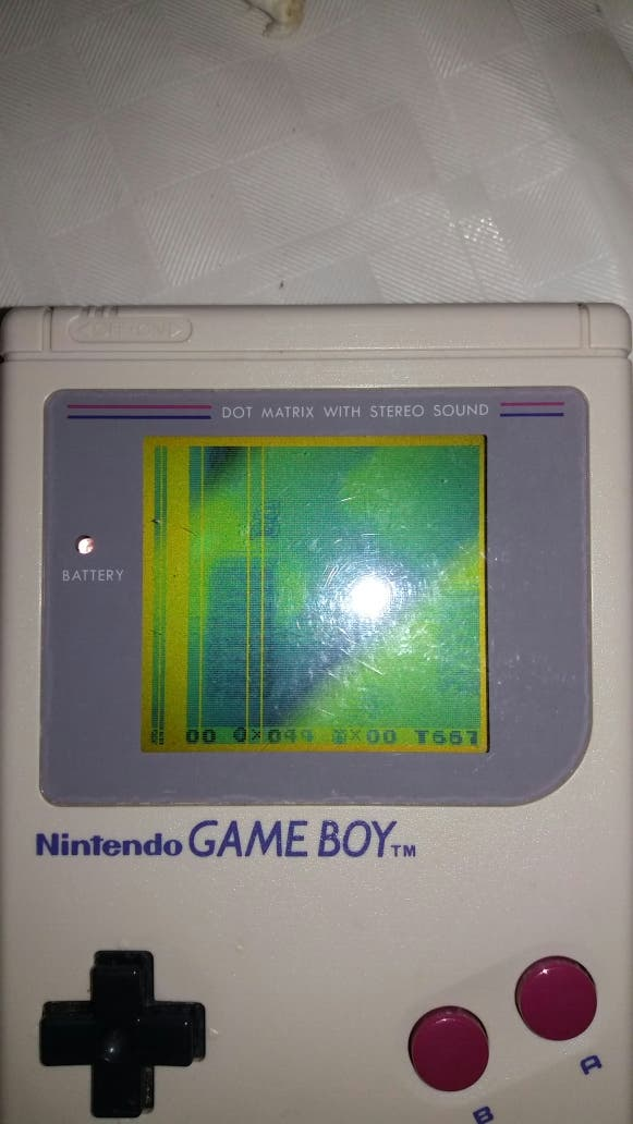 Consola Gameboy Juego Tetris De Segunda Mano Por 20 En Santa