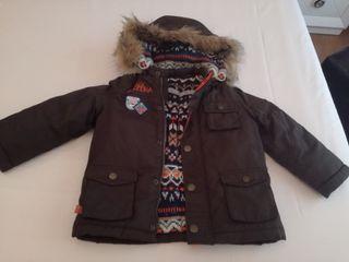 abrigo sergent major niño talla 4 años