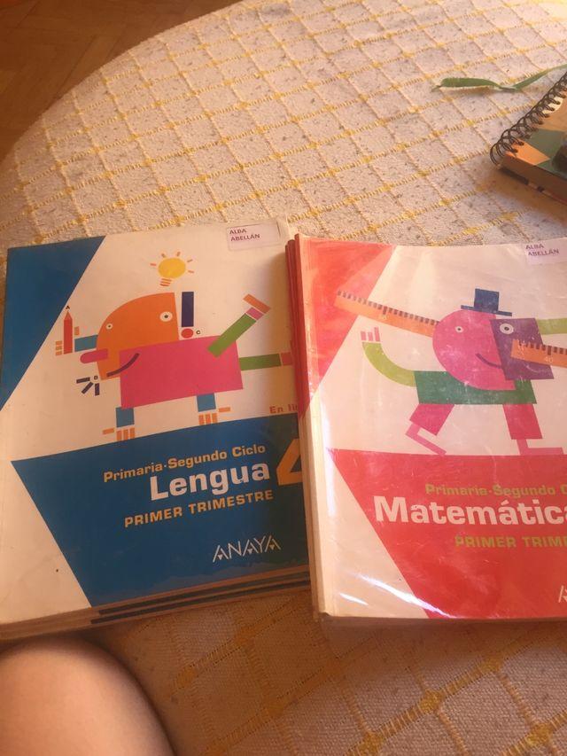 Libros cuarto primaria Buen estado 10€ cada libro de segunda mano ...